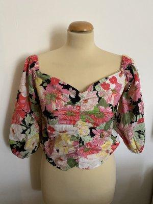 Zara Carmen blouse veelkleurig
