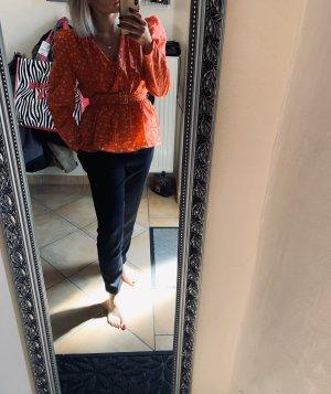 Zara Camicetta aderente rosso mattone