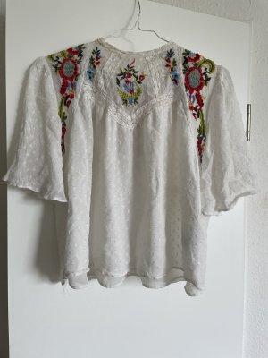 Zara Bluse floral