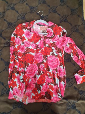 zara bluse floral S