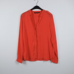 Zara Bluse Gr. L orange
