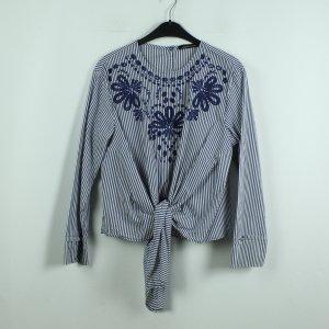ZARA Bluse Gr. M gestreift Boho Style (20/07/112*)
