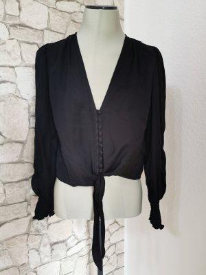 Zara Blouse topje zwart