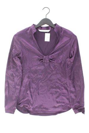 Zara Bluse Größe L lila aus Polyester