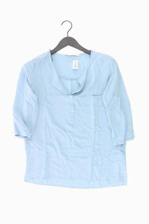 Zara Bluse Größe S 3/4 Ärmel blau
