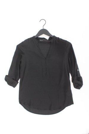 Zara Bluse Größe XS schwarz aus Polyester
