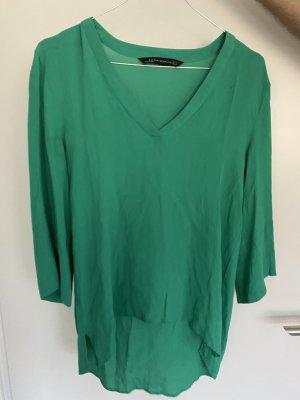 Zara Bluse grün
