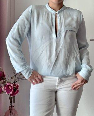 Zara Bluse hellblau M