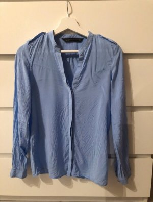 Zara Long Sleeve Blouse azure