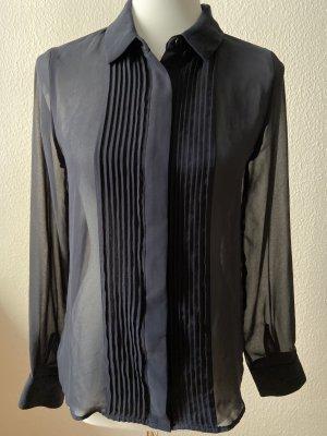 Zara - Bluse in Dunkelblau