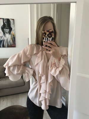 Zara Bluse in hellrosa S wie neu
