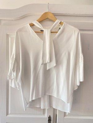 Zara Kimono blouse wit