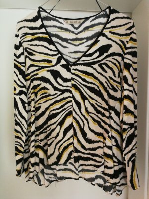 Zara Bluse mit Animal-Print
