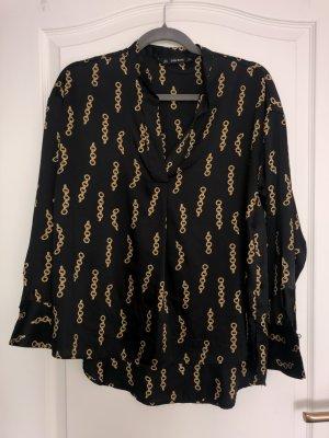 Zara Bluse mit Ketten Design in Gold – NEU!