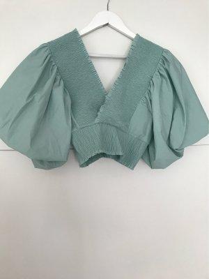 ZARA | Bluse mit Puffärmeln