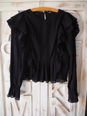 Zara Shirt Blouse black