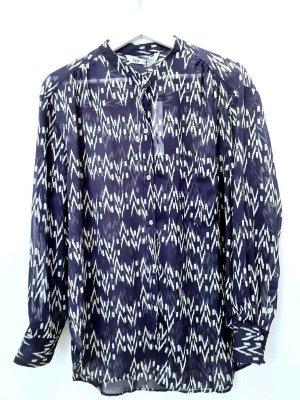 Zara/ Bluse / Neu mit Etikett/ Blau weiß / Größe M