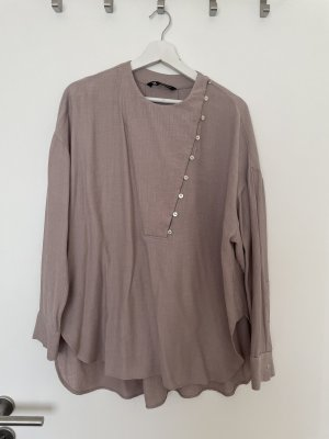 Zara Bluse Oberteil Hemd Gr L