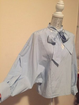Zara Oversized blouse azuur