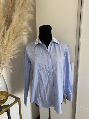 Zara Bluse Perlen neu mit Etikett