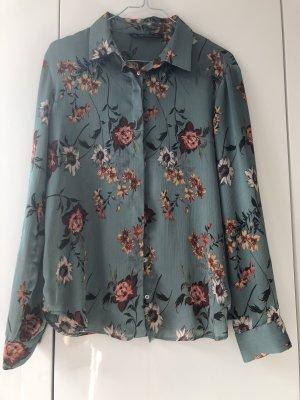 Zara Cols de blouses multicolore