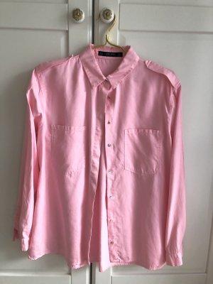 ZARA Bluse rosa S