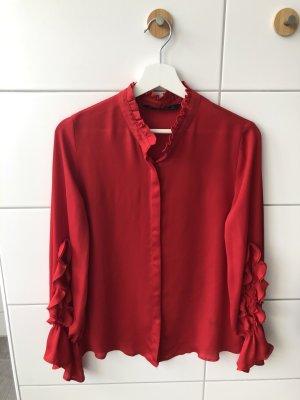 Zara Bluse Rot