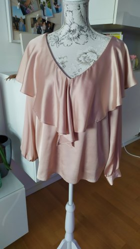 Zara Ruffled Blouse pink