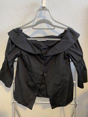 Zara Carmen Blouse black