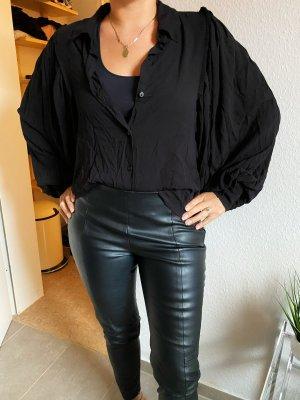 Zara Bluse Schwarz Gr. XS