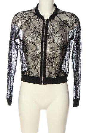 Zara Giacca a blusa nero stile casual