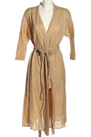 Zara Blusenkleid braun Casual-Look