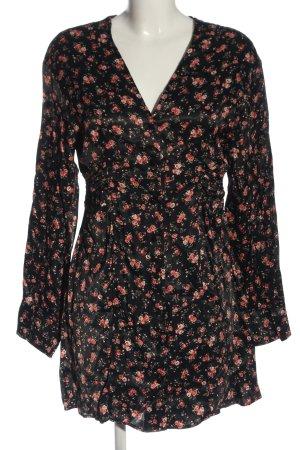 Zara Blusenkleid Allover-Druck Casual-Look