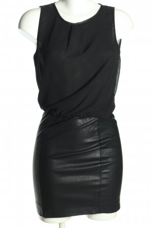 Zara Blusenkleid schwarz Business-Look