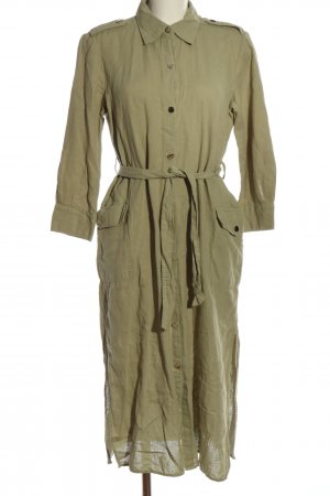 Zara Blusenkleid khaki Casual-Look