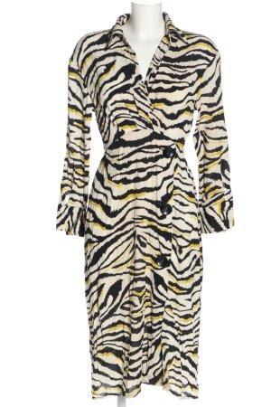Zara Blusenkleid Animalmuster Casual-Look