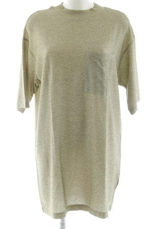 Zara Blusenkleid hellgrau schlichter Stil