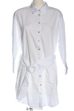 Zara Robe chemisier blanc style décontracté