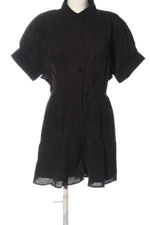 Zara Blusenkleid schwarz Casual-Look