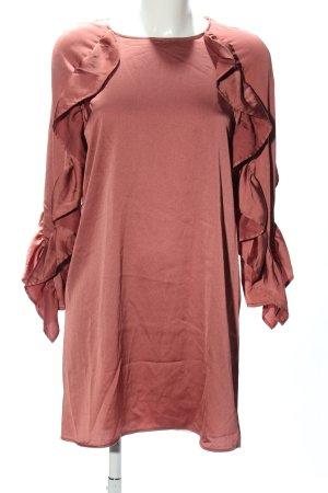 Zara Blusenkleid rot Casual-Look
