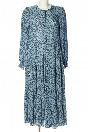 Zara Blusenkleid mehrfarbig Casual-Look