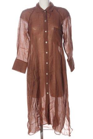 Zara Blusenkleid braun klassischer Stil