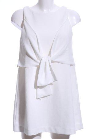 Zara Robe chemisier blanc cassé style d'affaires