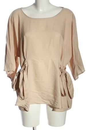 Zara Blusenshirt creme Casual-Look