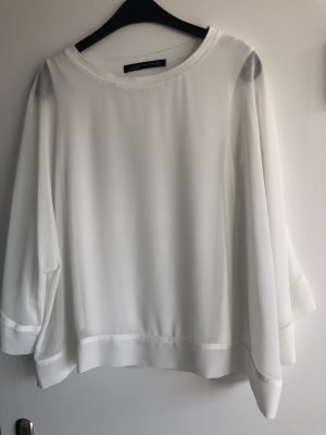 Zara Blusenshirt in Creme wie neu