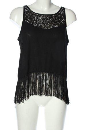 Zara Camisa de mujer negro look casual