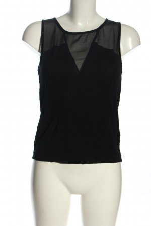 Zara Blouse Top black casual look
