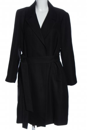 Zara bodenlanger Mantel schwarz Elegant