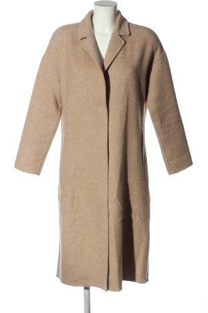 Zara bodenlanger Mantel wollweiß Casual-Look