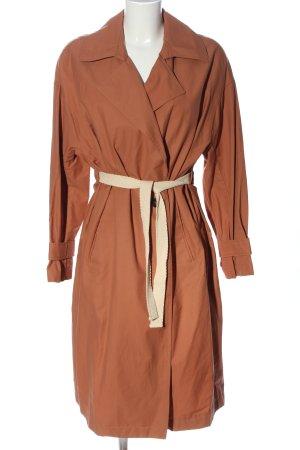 Zara Manteau long rouge style décontracté